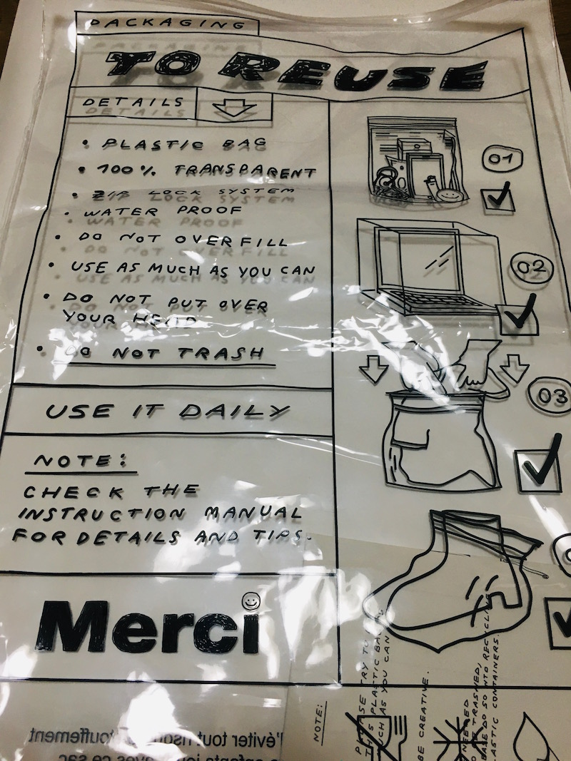 merci shopbag リデザイン 最適化